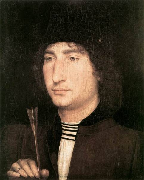 Portrait of a Man with an Arrow 1478 80